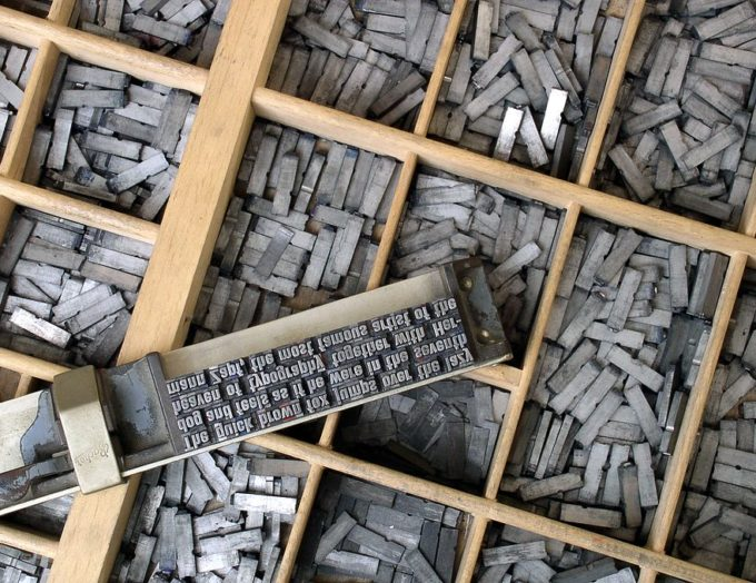 Metal_movable_type jpg on WikiCommons